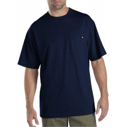 1144624DN-2 pack-DARK NAVY SHORT SLEEVE T-SHIRTS WITH POCKET