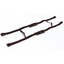 Bretelle cuir - ajustable