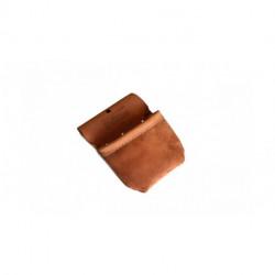 Petite poche  rabat en cuir 5 oz