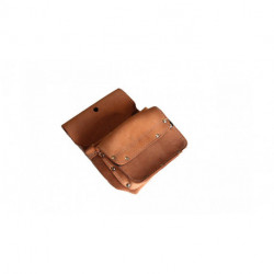 P-118 - Pouch 1 pocket + 1 pocket with Velcro