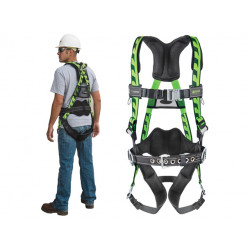 MILLER AIRCORE CONSTRUCTION STYLE HARNESS WITH QC BUCK