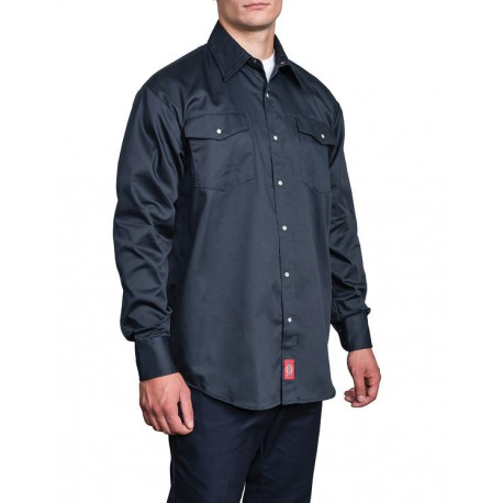 1221DN - LONG SLEEVE SNAP WORK SHIRT