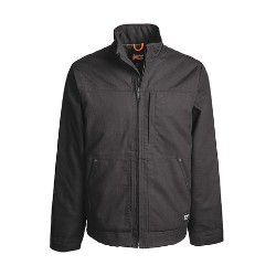 Stand Up Collar Balluster Jacket Jet