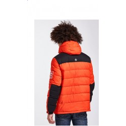 O-A PUFFER JACKET SPICY ORANGE