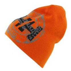 CHELSEA BEANIE DARK ORANGE