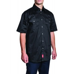 M SHORT SLEEVE SNAP WORK SHIRT