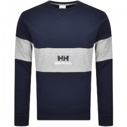 YU20 crew neck sweat navy