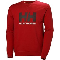 HH logo crew sweat alert red