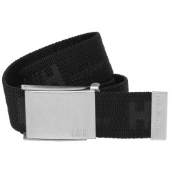 HH LOGO WEBBING BELT BLACK