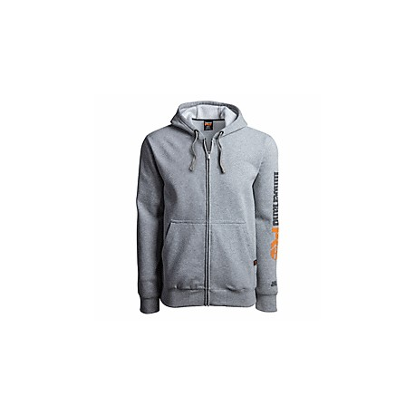 HOOD HONCHO SPORT FULL ZIP LIGHT GREY HEATHER